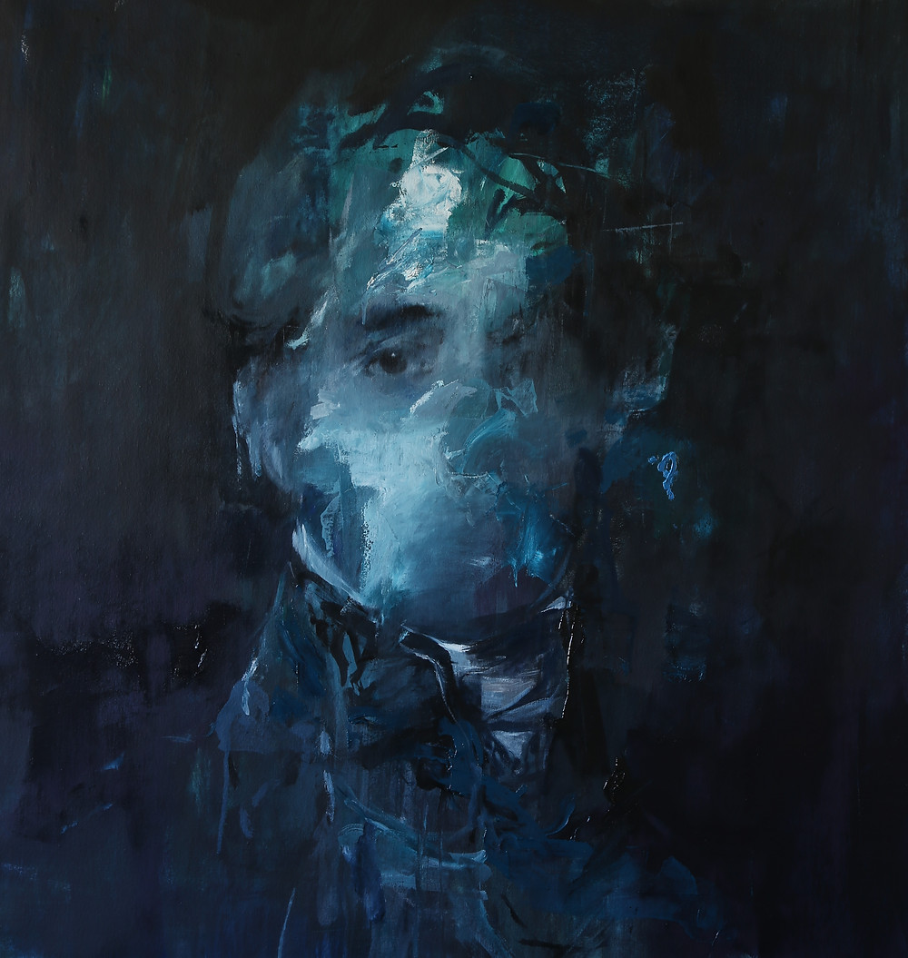 Duke of Wellington after Lawrence by Jake Wood-Evans, oil on canvas, 2015