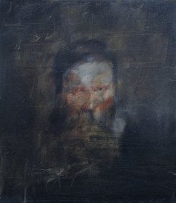 Portrait of a man with a beard,