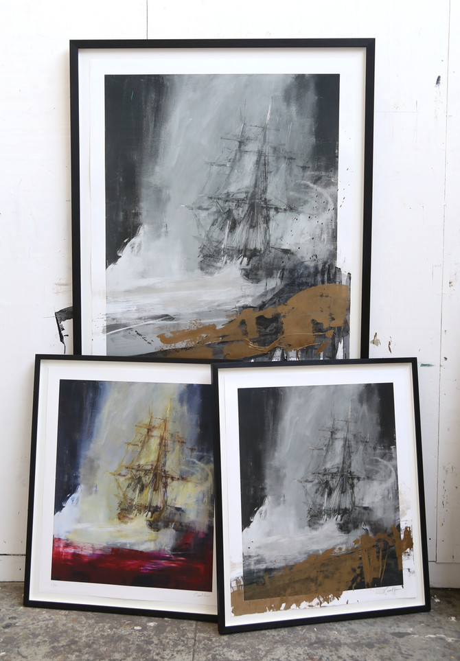 Preview of new Seascape prints
