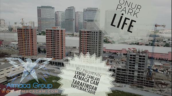 Onur Park Life Bahçeşehir, Koruuk, Lamin Cam İşleri