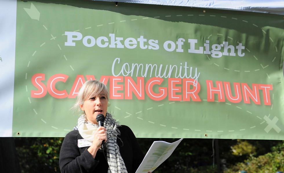 Pockets of Light Scavenger Hunt 2018