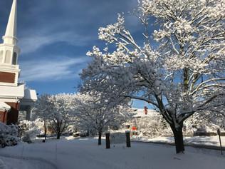 winter steeple