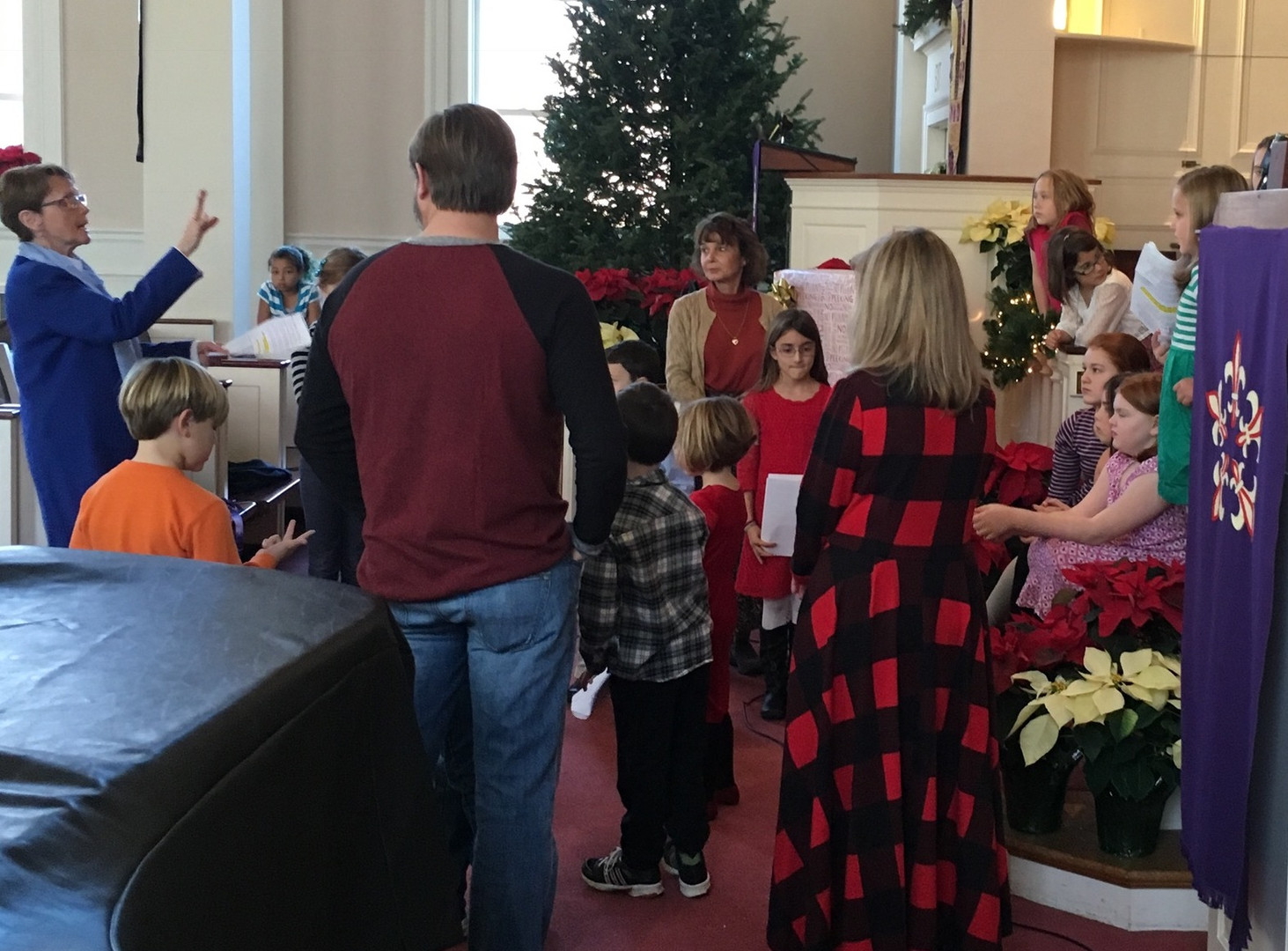 Children's time during service