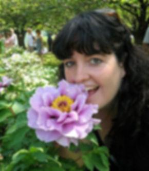 Tamara and the Flower.jpg