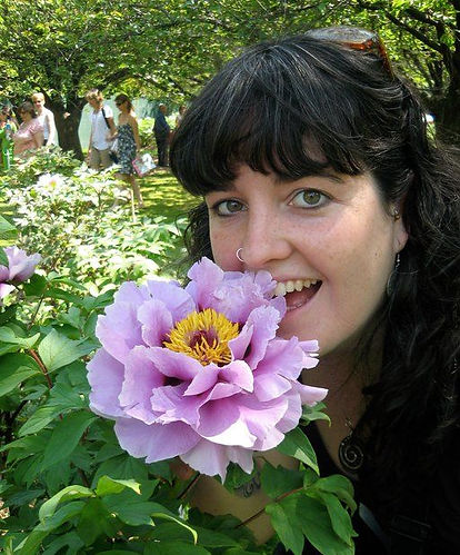 Tamara and the Flower.jpg