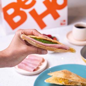 BeHo en la sandwichera