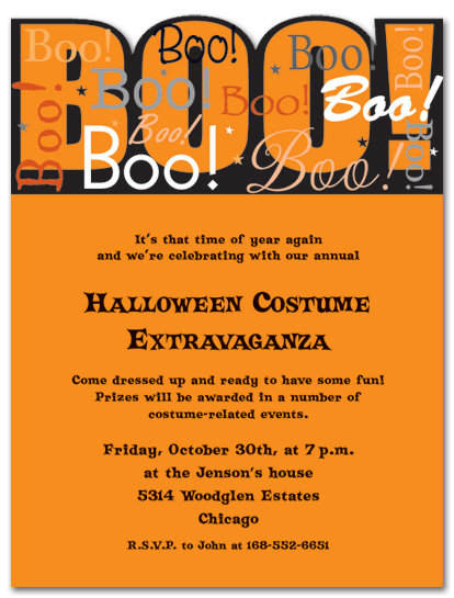 Halloween Night Party and  Event Invitation