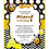 Thumbnail: The Hive Yellow & Black Birthday Party Invitation