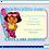 Thumbnail: Dora Surfer Birthday Party Invitation
