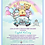 Thumbnail: It's a Boy Pooh Babies Drive-By Baby Shower Invitations (sold in sets of 10)