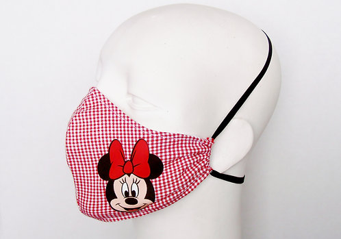 Minnie Mouse Contoured Face Mask with Filter Pocket