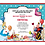 Thumbnail: Designer Alice in Wonderland Baby Shower Invitations (sold in sets of 10)