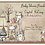 Thumbnail: Boho Woodland Drive-By Girl Baby Shower Invitations (sold in sets of 10)