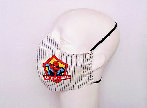 Spiderman Contoured Face Mask with Filter Pocket