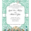 Thumbnail: Seaside Tiffany Lace Wedding / Event Invitation