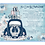 Thumbnail: Radiant Blue Drive By Christmas Invitation (sold in sets of 10)
