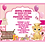 Thumbnail: Lion King Princess Pink Shower Invitation  (sold in sets of 10)