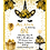 Thumbnail: Golden Magical Unicorn Birthday Invitation (sold in sets of 10)