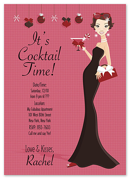 Stylish Holiday Party and  Event Invitation
