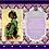 Thumbnail: Ebony Princess Invitation Birthday Party Invitation