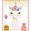 Thumbnail: Spring Magical Unicorn Birthday Invitation (sold in sets of 10)