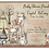 Thumbnail: Boho Woodland Drive-By Baby Shower Invitations (sold in sets of 10)