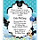 Thumbnail: Blue Mickey Mouse Baby Shower Invitation