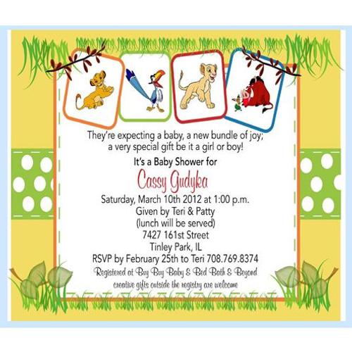 gender neutral baby shower invitation / unique invitatione by cheryl, Baby shower invitations