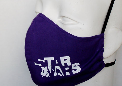 Star Wars Duel Contoured Face Mask with Filter Pocket