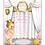 Thumbnail: Little Princess Blonde Birthday Party Keepsake Bottle Invitation