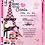 Thumbnail: I Love  Paris Kid Birthday Party Invitation
