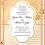 Thumbnail: Gold Coral Wedding / Event Invitation