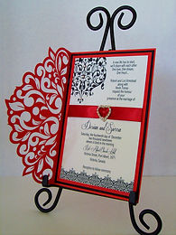 Ravishing Red Party Invitation