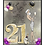 Thumbnail: 21st Birthday Party Blonde and  Event Invitation (sold in sets of 10)