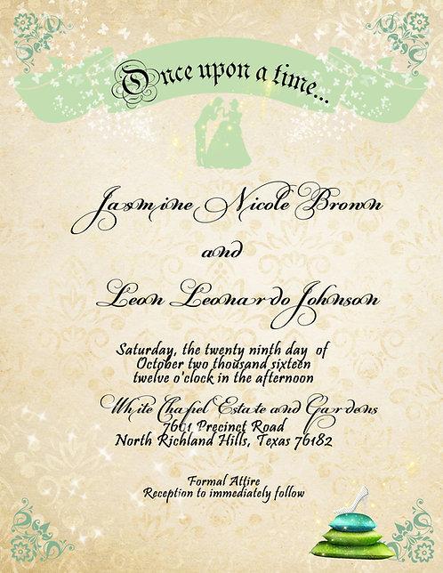 Princess Wedding / Event Invitation