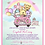 Thumbnail: It's a Girl Pooh Babies Drive-By Baby Shower Invitations (sold in sets of 10)