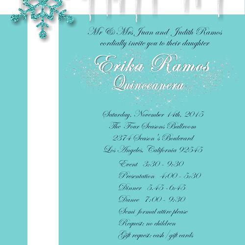 Wedding event invitationsunique invitations by cheryl tiffany ice party and event invitation stopboris Gallery