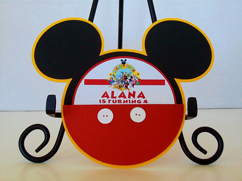 Mickey Mouse Pocket Invitation