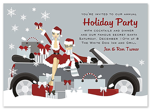 Snow Bound Party and  Event Invitation