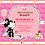 Thumbnail: Vintage Minnie Mouse Birthday Party Invitation