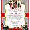 Thumbnail: African American  Red Hot Drive-By Birthday Invitation (sold in sets of 10)