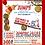 Thumbnail: Pooh JUMP! Birthday Invitation (sold in sets of 10)