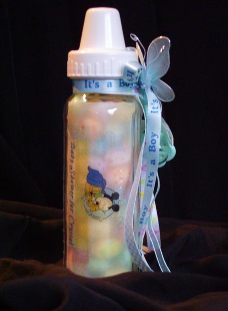 Baby Mickey Baby Shower Invitations