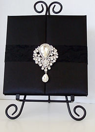 Elegant Jeweled Box Invitation