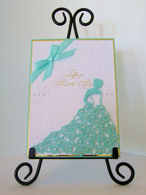 Princess Sweet 16 Elegant Birthday Invitation