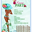 Thumbnail: African American Luau Beach Party Invitation (sold in sets of 10)