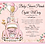 Thumbnail: Girl Baby Shower Parade Invitations (sold in sets of 10)