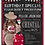 Thumbnail: African American Coffee Kiss Party Invitation (sold in sets of 10)