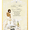 Thumbnail: African Amer. Champagne & Flowers Bridal Shower Invitation (sold in sets of 10)
