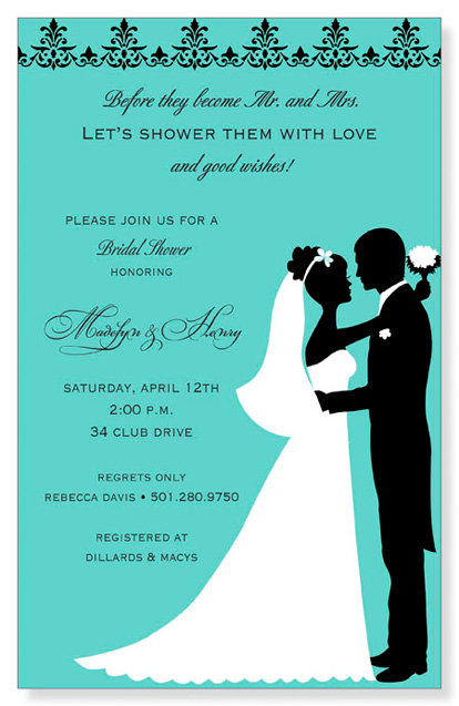 Close to You Bridal Shower Bridal Shower and  Event Invitation
